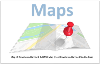 Map of Downtown Hartford